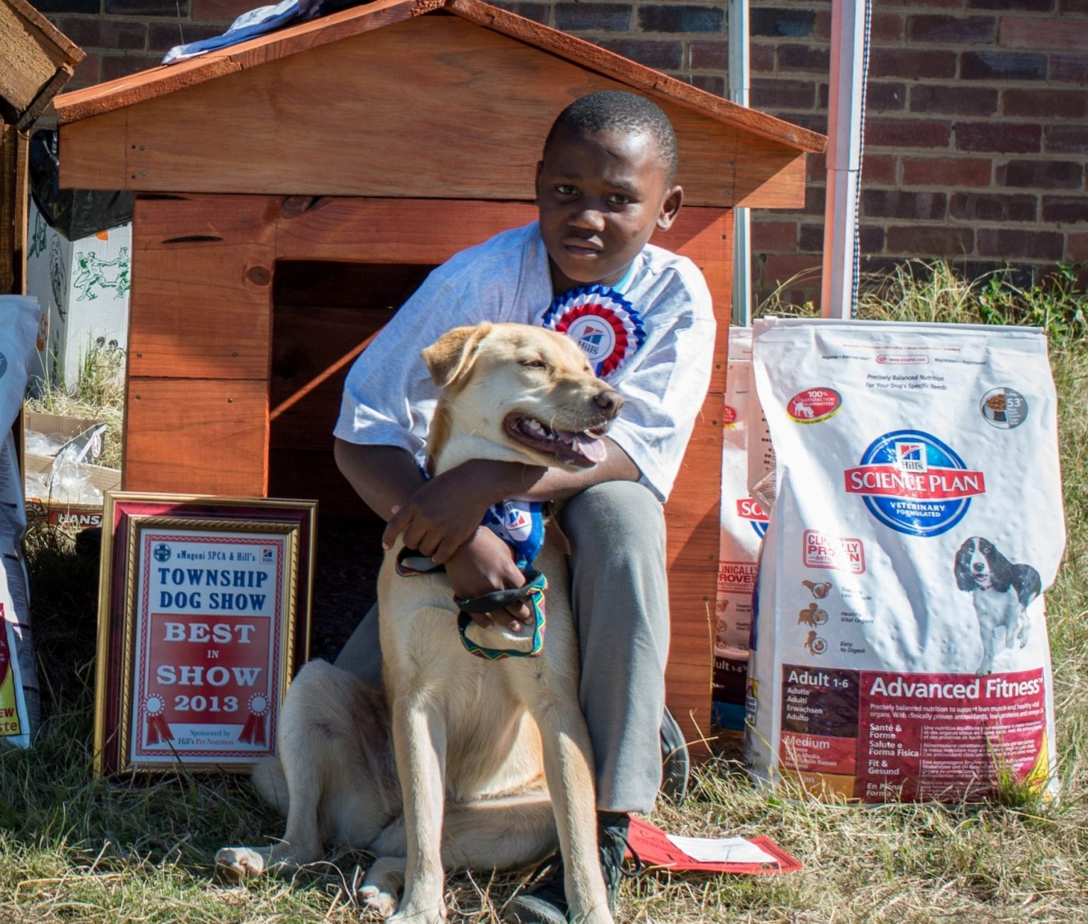 Best in Show - Khanyiso Mbambo and Ranger (by Pierre de Villers) DSC_427...cropped